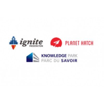 Ignite Fredericton | Planet Hatch | Knowledge Park logo